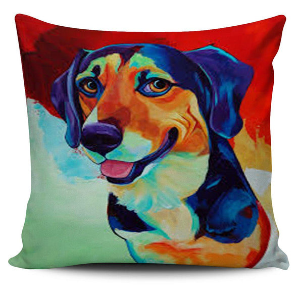 Pillows - Dog Art Painting - Pillow Covers