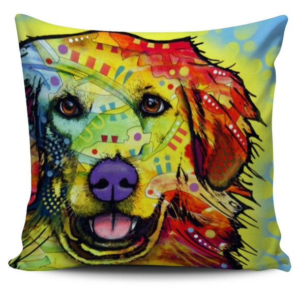 Pillows - Dog Painting - Pillow Covers