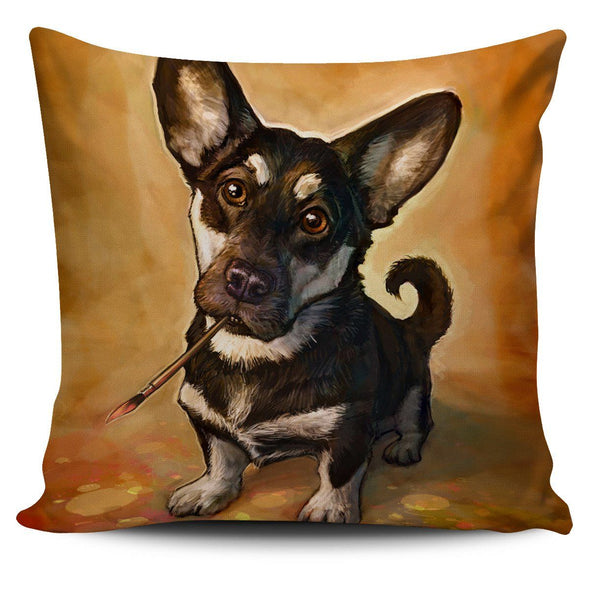 Pillows - Dog Paiting Pillow Covers