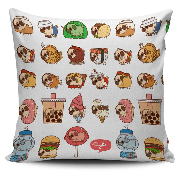 Pillows - Dog Pattern Pillow Cover