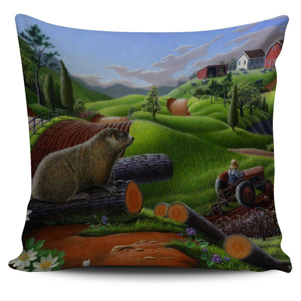Pillows - Morning On Farm - Pillow Covers