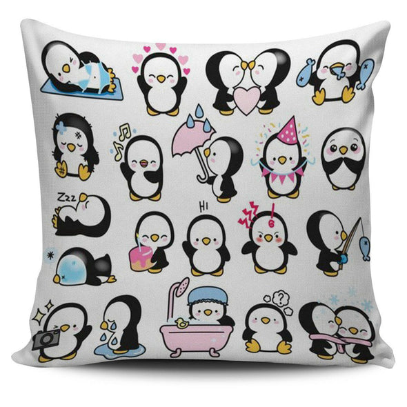 Pillows - Penguin Cute - Pillow Covers