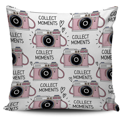 Pillows - Pinky Camera Pillow Cover