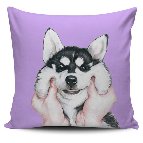 Pillows - Siberian Husky Dog - Pillow Covers