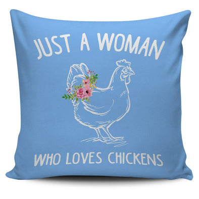 Pillows - Who Loves Chickens - Pillow Covers