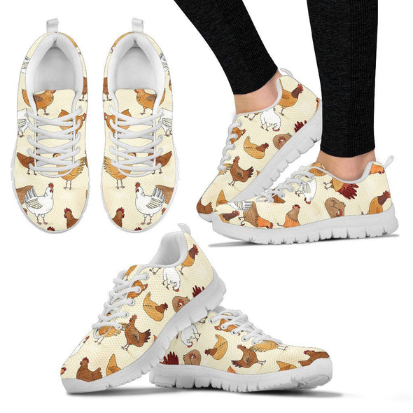 Shoes - Chicken Lady Sneakers White