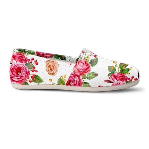 Shoes - Flower - Women's Casual Shoes
