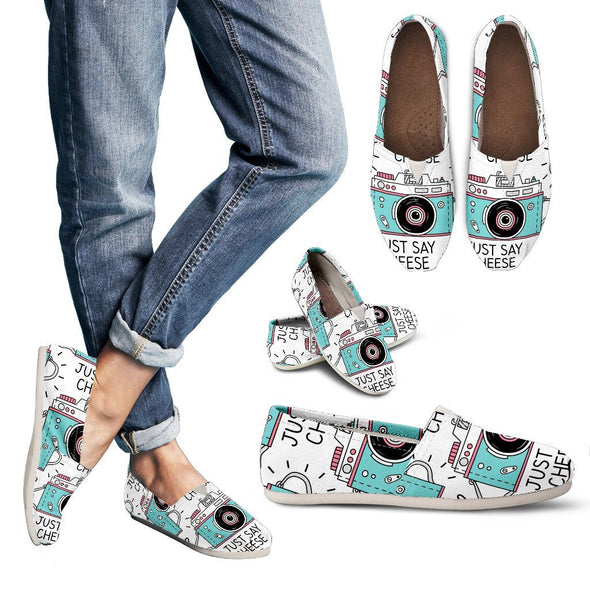 Shoes - Pastel Camera Casual Shoes