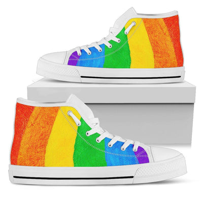 Shoes - Rainbow High Top