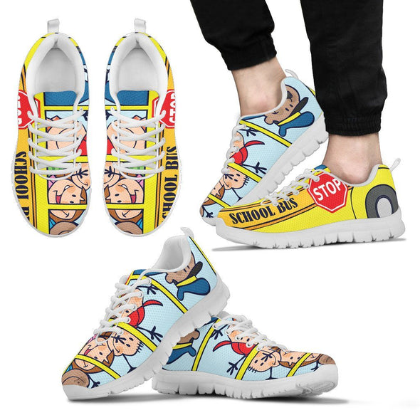 Shoes - School Bus Sneaker Shoes