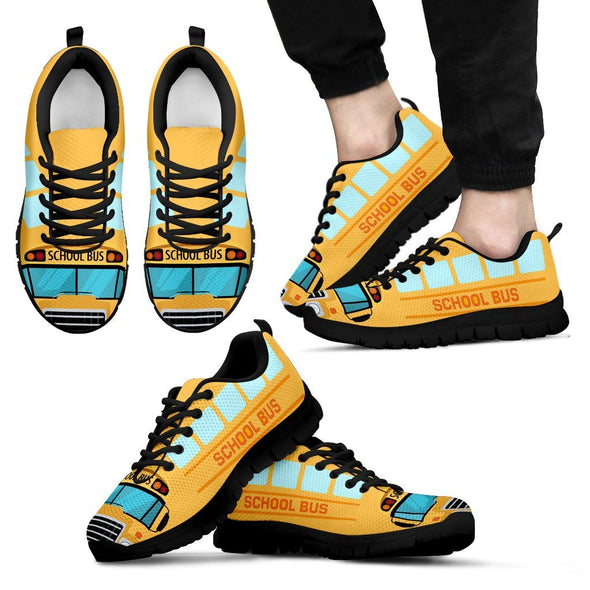 Shoes - School Bus Sneakers Shoes