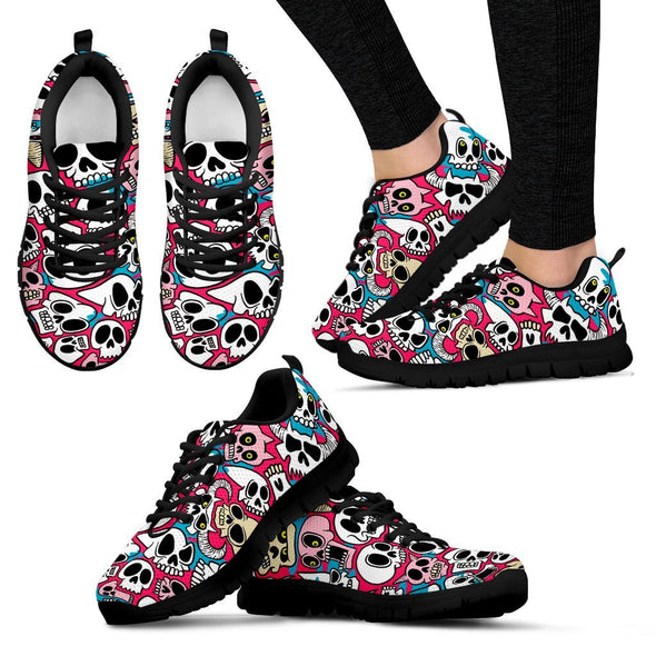 Shoes - Sugar Skull Lover Sneaker
