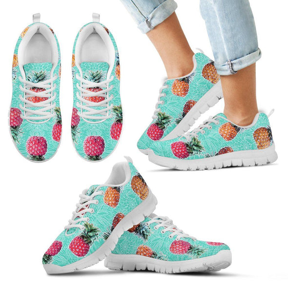 Shoes - Women's Sneakers Pineapple