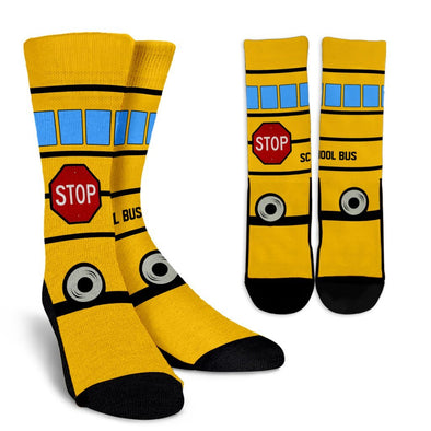 Socks - Beautiful School Bus Socks