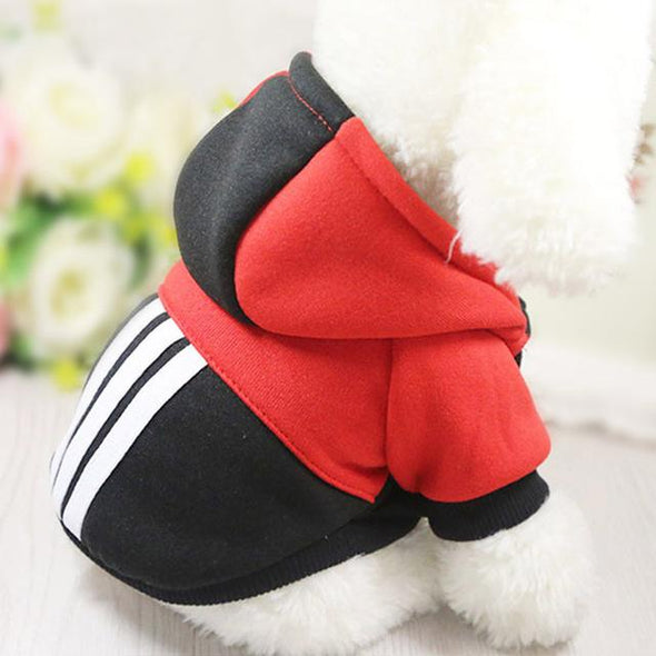 Warm Pet Dog Clothes Winter Dog Clothes For Small Dogs Clothing Chihuahua Puppy Outfit For Fashion Dog Coat Yorkie Hoodie 22S1