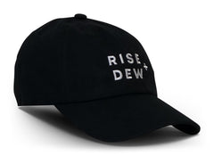 RISE + DEW | Black Dad Hat