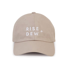RISE + DEW | Natural Dad Hat