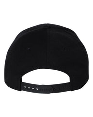 RISE + DEW | Black Snapback Hat