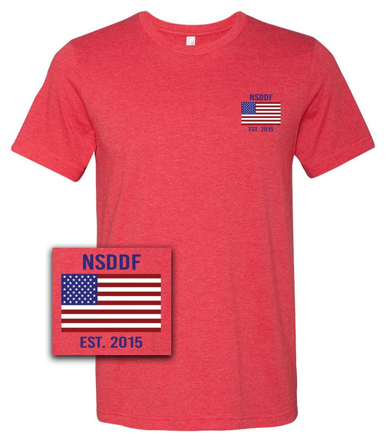 Red Navy SEAL Danny Dietz Foundation EST. 2015 Shirt