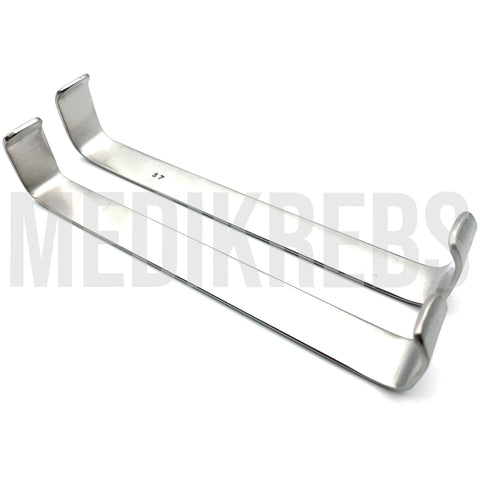 Farabeuf Retractor Set 15 mm X 15 cm - 15 mm X 14.5 cm