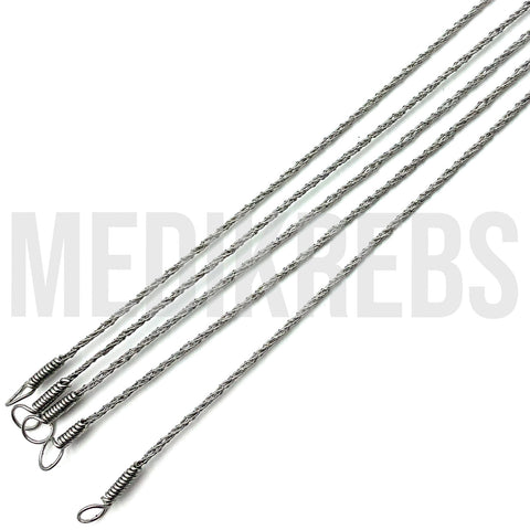 Gigli Saw Wire, Set of 5, 55 cm