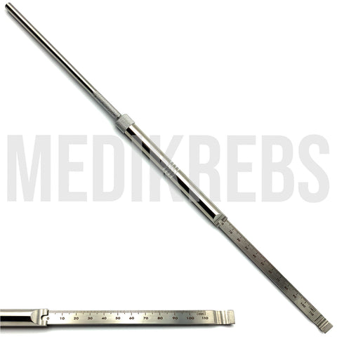 Depth Gauge 4.5 mm - 0 mm to 100 mm, 39 cm Length