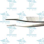 Adson Tissue Forceps w/ Serrated Blades 12 cm