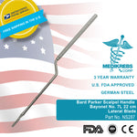 Bard Parker Scalpel Handle Bayonet No. 7L 22 cm Lateral Blade Surgical