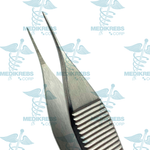 Adson Micro Dissecting Tissue Forceps Serrated Jaws 12 cm