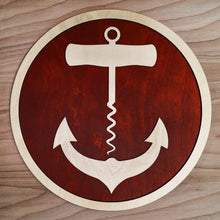 Load image into Gallery viewer, Anchor Corkscrew - Wall Art