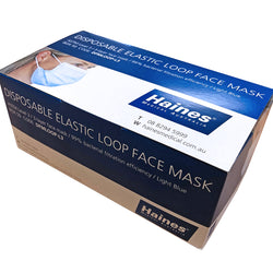 3 Ply Surgical Elastic Loops Face Mask (ASTM Level 3)