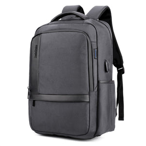 Business Charging Waterproof Large Capacity Laptop Backpack with USB Charging Port
