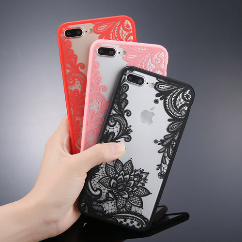 Mandala Lace Flower Cases Phone Case For iPhone X   6 6s 7 8 Plus