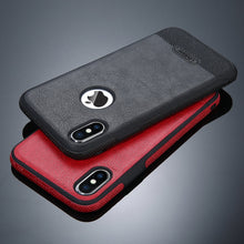Luxury Leather Soft Silicon TPU For iPhone