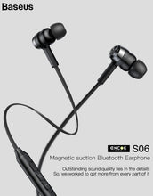 Baseus S06 Bluetooth Earphone - Handsfree Sport With MIC
