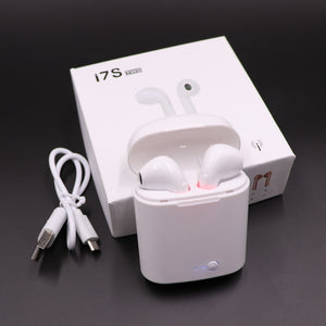 Portable Wireless Earphones With Charging Box | Airpods