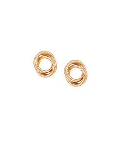 Classy Knots Big Stud Earrings