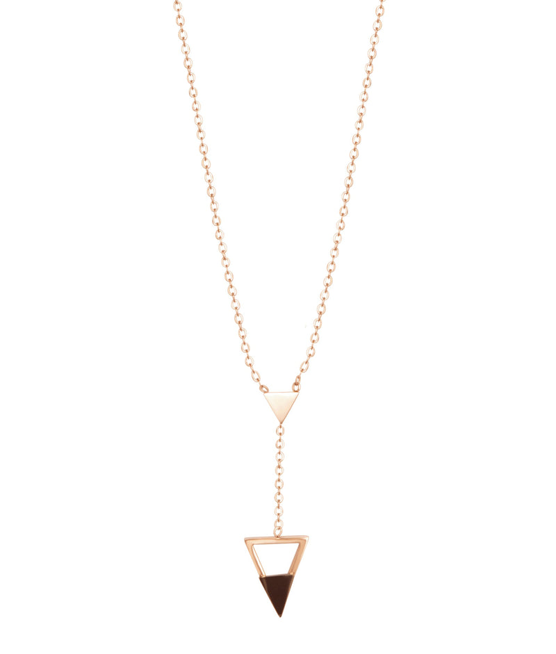 Inverted Crush Necklace by FASHKA product view