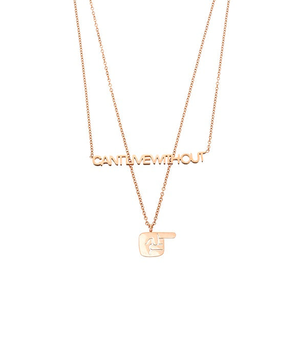 Can't Live Without You, Dual Chain Necklace