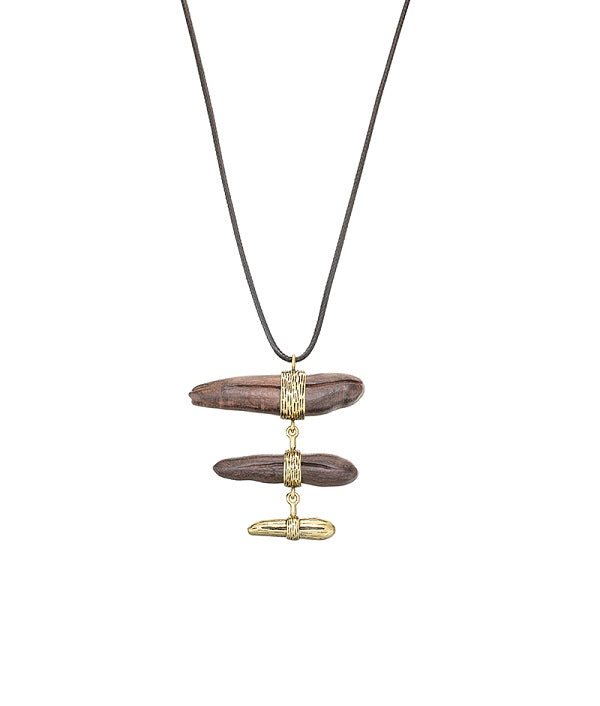 Zen Stack Long Necklace by FASHKA