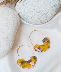 Tropical Bliss Dangler Earrings