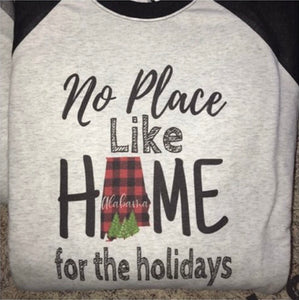NO PLACE LIKE HOME (ALABAMA) - Christmas