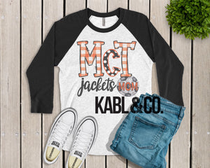 McGill Soccer Mom (Black Raglan)