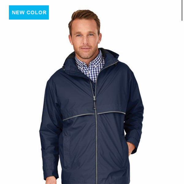 Charles River Men's Rain Jacket (9199)