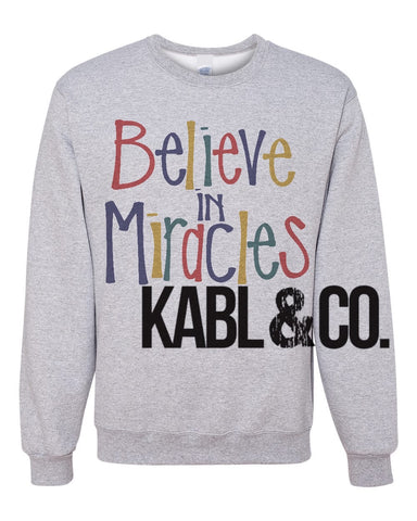 Believe in Miracles - Christmas