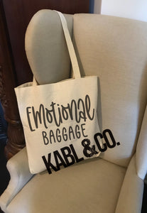 Emotional Baggage Tote
