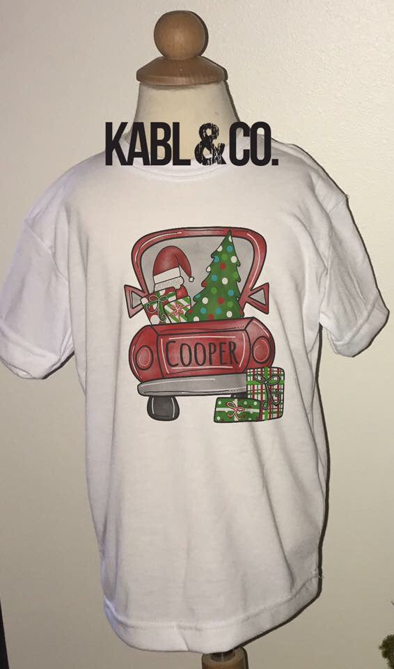CHRISTMAS TRUCK (child) CUSTOMIZE