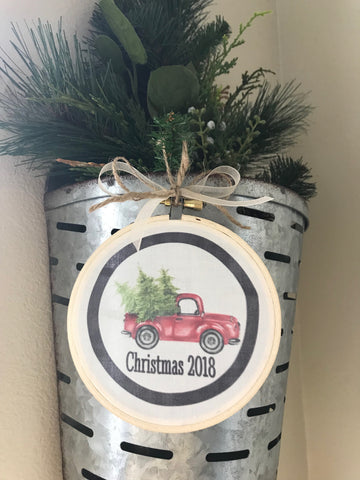 Ornament - CHRISTMAS TRUCK