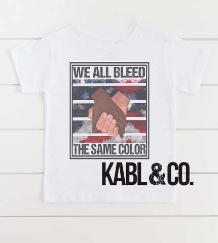 We All Bleed the Same Color - Love All
