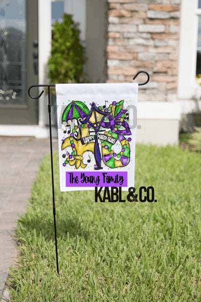 Mardi Gras Flags